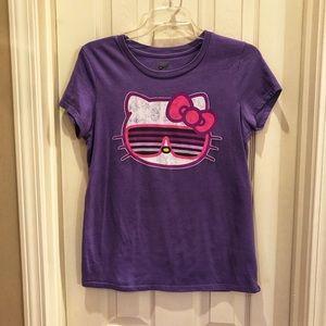 Old Navy Hello Kitty Medium Purple Shirt Top